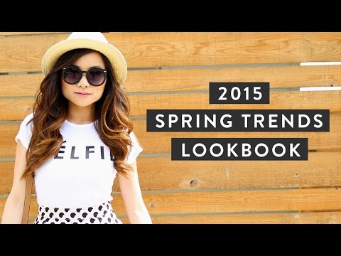 2015 Spring Trends Lookbook | Spring Fashion Outfit Ideas | Miss Louie