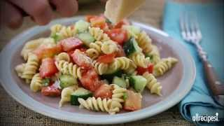 Pasta Salad Recipes - How To Make Pasta Salad