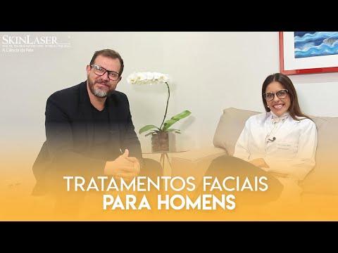 Tratamentos faciais para homens