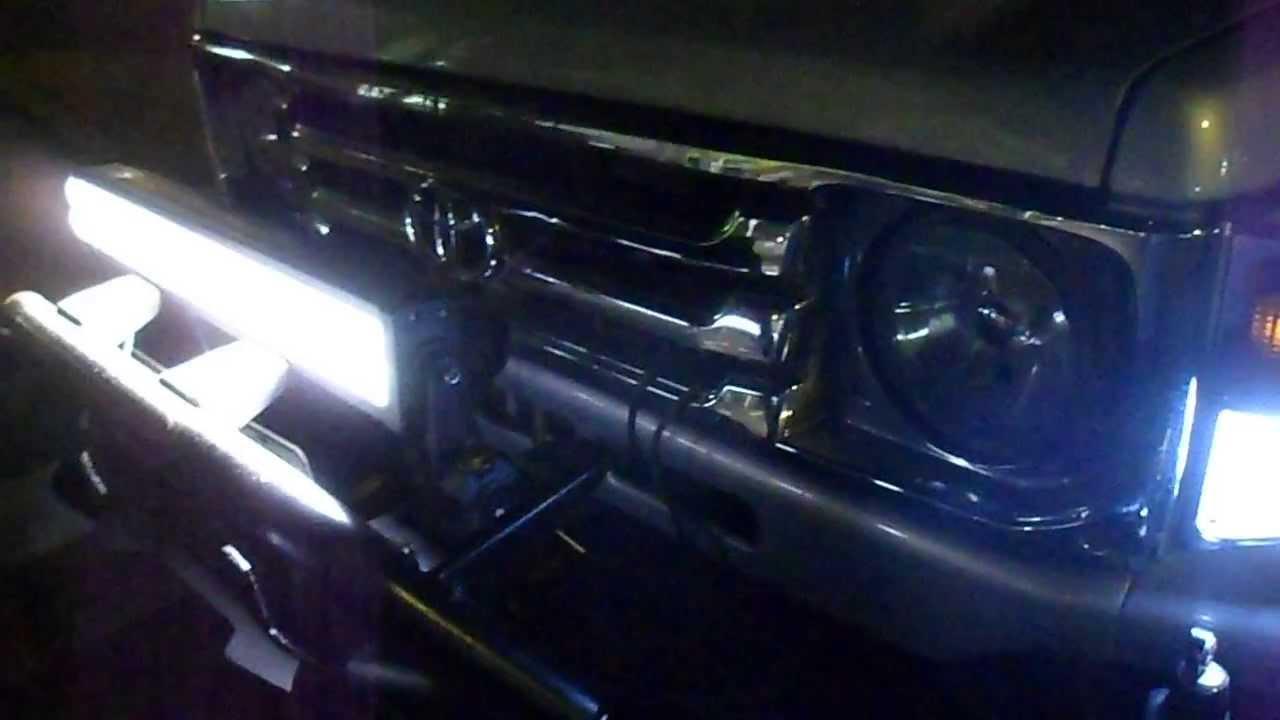 barras de luz led