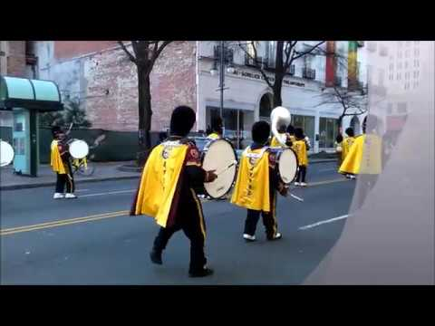 WEST CHARLOTTE HIGH SCHOOL MARCHING BAND@THE CHARLOTTE MLK PARADE 2018