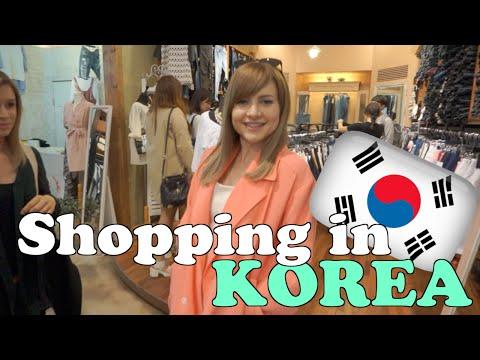 KOREAN FASHION SHOPPING   Sharla in Korea