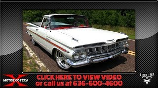 1959 Chevrolet El Camino || For Sale thumbnail