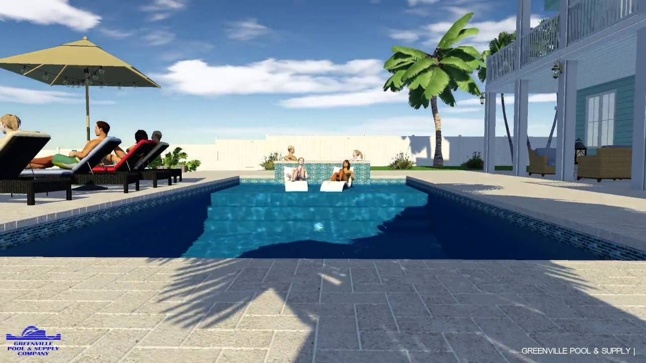 Greenville Pool Supply Co Custom Waterfront Residential Proposal Wilmington Nc