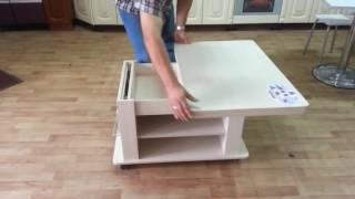 видео Деревянные столы  в Барнауле