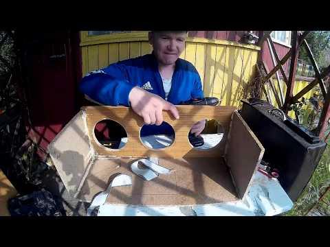 jak zrobić boomboxa,Głośnik DIY cz.5 składanie  obudowy