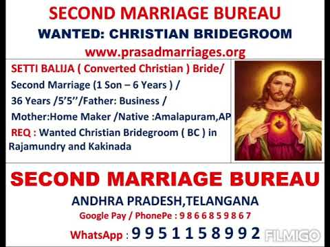Settibalija Bride Second Marriage One Son 6 Yes Converted