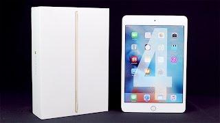 Apple iPad mini 4 : Déballage et premier démarrage (Unboxing français)