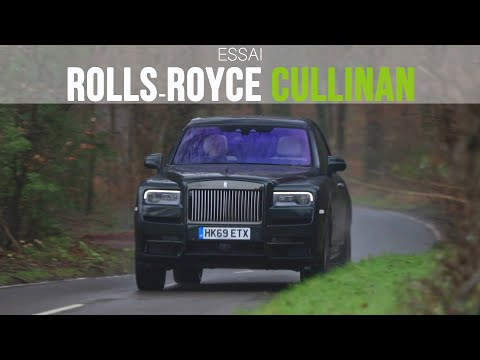 Essai Rolls-Royce Cullinan Black Badge 2020