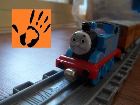 Playing with Trains - Thomas & Friends - Stop Motion - Take N Play - Toy Mania