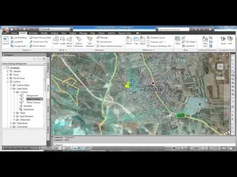 Designing a highway using  Civil 3D