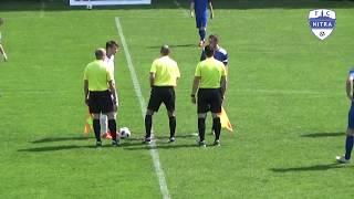 08226d370 FC Nitra juniori - TJ ISKRA BORČICE 3:1, 25.kolo Tipos III.liga Západ