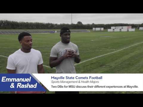 Emmanuel & Rashad, Sports Management & Health Majors at MSU