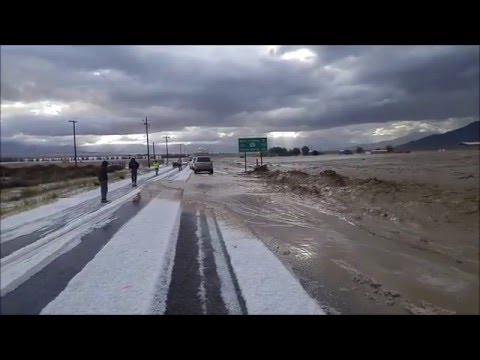 Route 166 Flash Flooding 05/05/2016