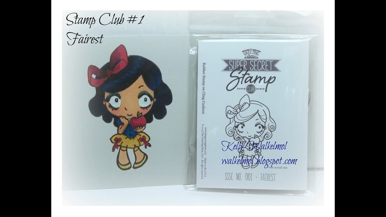 The Greeting Farm Stamp Club Fairest First Stamp In Club To Be