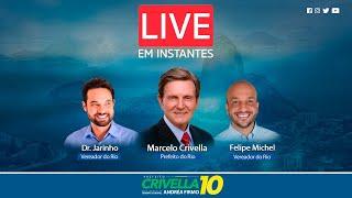 Live com Crivella - Convida os Vereadores Dr. Jairinho e Felipe Michel