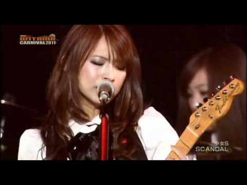 Scandal - Shoujo S (少女S) [Live]