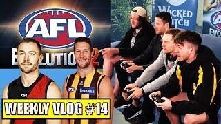 AFL EVOLUTION 2 with DEVON SMITH & JAMES FRAWLEY | WEEKLY VLOG 14