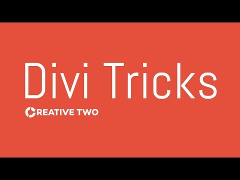 How to set up full width columns in Divi - Divi 3.0 Theme Customization Tutorial