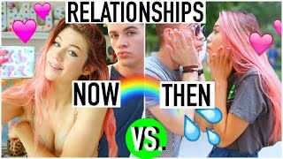 One of jessiepaege's most viewed videos: The Relationships THEN vs. NOW
