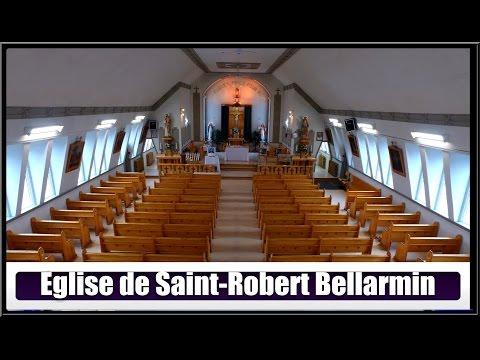Église De  Saint-Robert Bellarmin(Hier @ Aujourd`hui)
