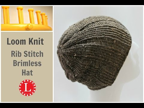 Knit Hat Stitch Calculator : How to Knit Mens Beanie Doovi