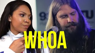 Chris Stapleton- What Are You Listening To Live Acoustic Reaction