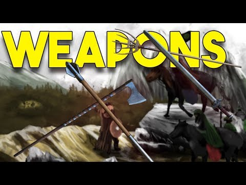 WEAPONS In Bannerlord! - Mount and Blade II Bannerlord UPDATE