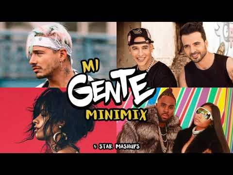 MI GENTE (Minimix) J. Balvin, Luis Fonsi, Camila Cabello, Jason Derulo, Nicki Minaj, Daddy Yankee