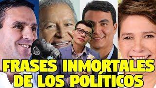 FRASES INMORTALES DE LOS POLÍTICOS - SOY JOSE YOUTUBER