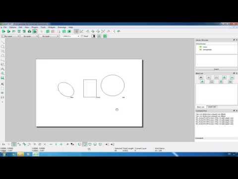 LibreCAD: Zeichnung ausdrucken