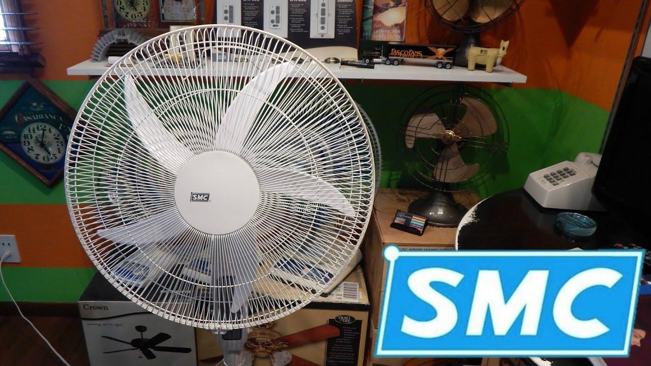 From Smc Stand Fan : Smc sp rc pedestal fan youtube