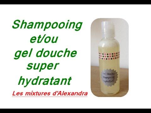 shampooing et/ou gel douche super hydratant