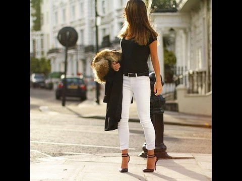d046d126d7 White jeans outfit - YouTube