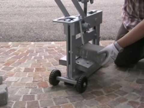 Block paving cutter