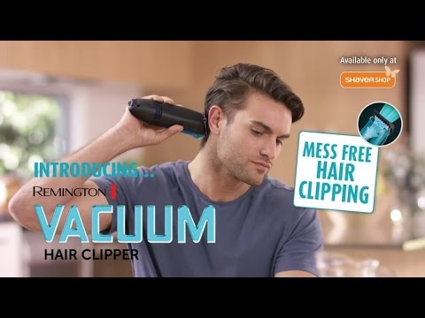 Remington Vacuum Hair Clipper - As Seen On TV! - YouTube