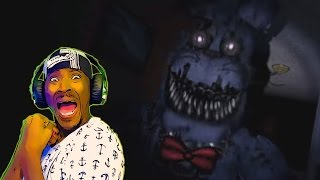 fnaf 4 official trailer   five nights at freddy s 4 trailer reaction   he got me again