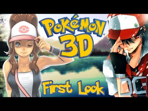 Pokemon 3D - First Look Gameplay - A Recreation of Pokemon Silver/Gold in 3D