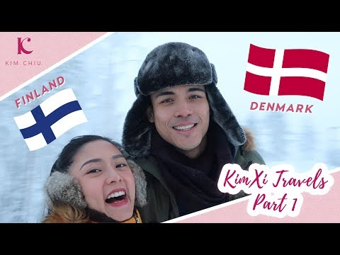 KIMXI Travels: Finland Northern Lights and Husky Sledding + Copenhagen | Kim Chiu PH