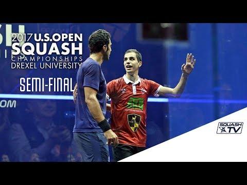 Squash: Men's Semi-Final Roundup - U.S. Open 2017
