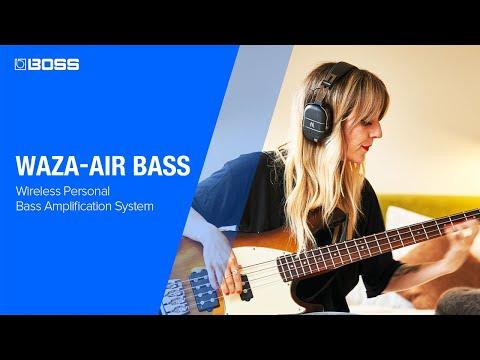 BOSS WAZA-AIR BASS - A Breakthrough Bass Experience