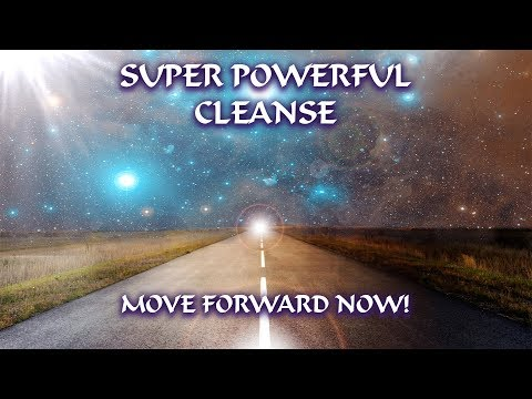 SUPER POWERFUL CLEANSE of Your Entire Energetic Field to MOVE FORWARD NOW! with Archangel Michael