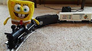 Spongebob Adventures/ The Super Train Set!