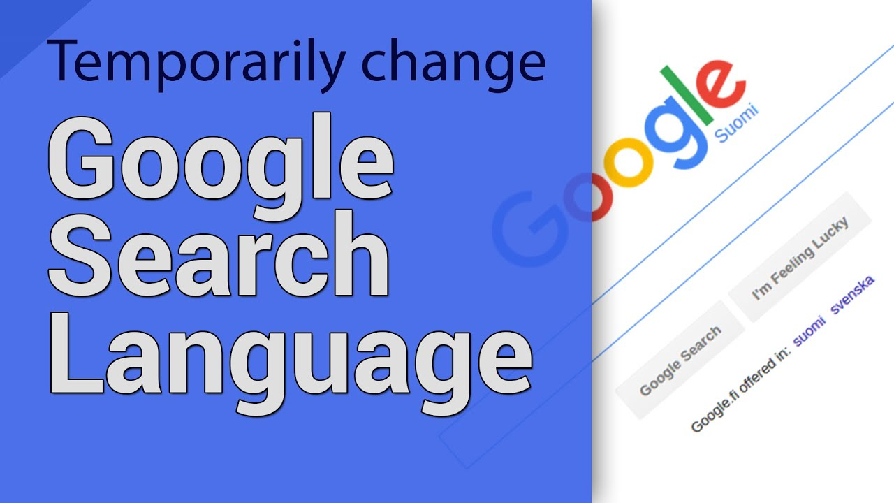 how to do a google image search on iphone change search language temporarily 3396