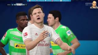 Hamburger SV 1:2 Borussia M'Gladbach |LIVESTREAM| DFB Pokal Achtelfinale 01.03.2017 FIFA 17