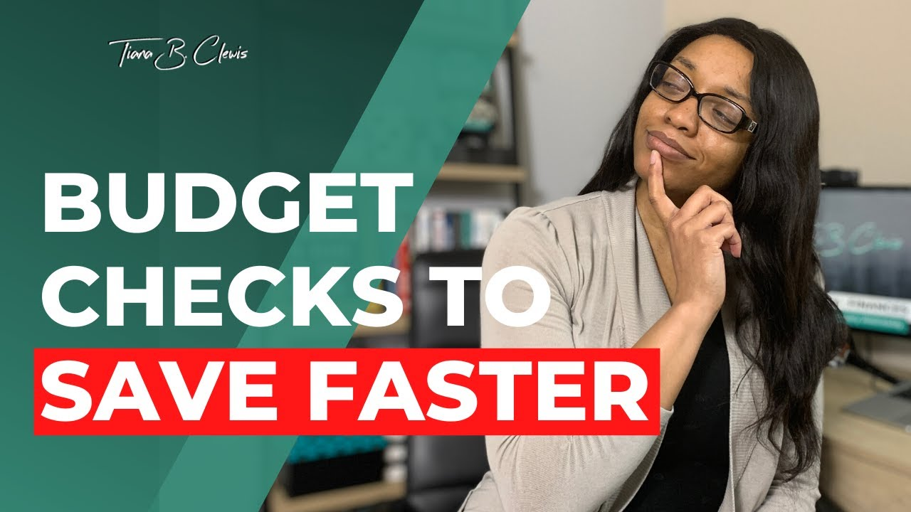 How to Save Money Faster with a Monthly Budget Check