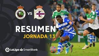 Resumen de Real Racing Club vs RC Deportivo (1-1)