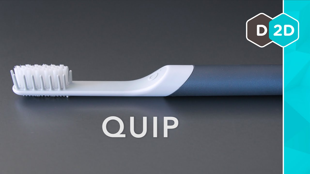 Quip Toothbrush Review - Much Improved - YouTube