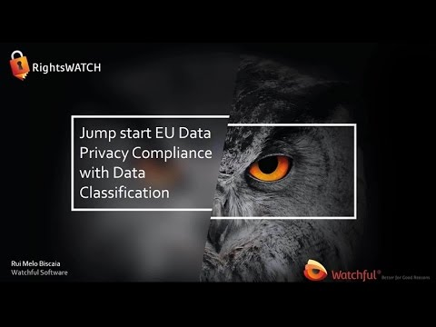 Jump start EU Data Privacy Compliance with Data Classification