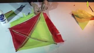 Como hacer un  barrilete